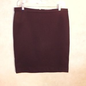Micheal By Micheal Kors Black Mini Skirt